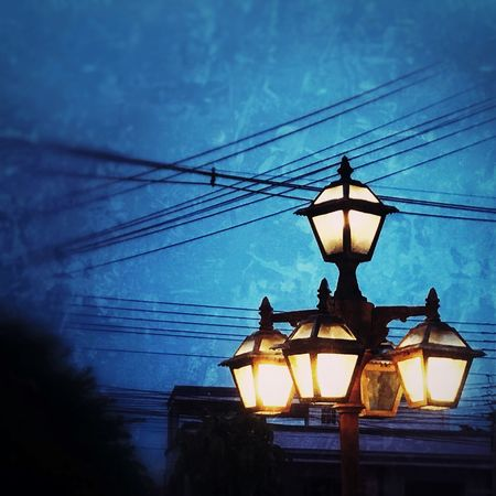 Lantern Light Alone Nightphotography