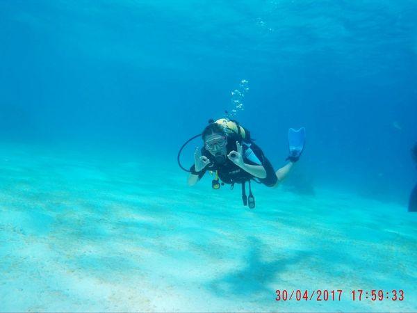 Cuba Scuba Diving Water Diving Underwater UnderSea Blue Outdoors Nature Scuba Diving Adventure