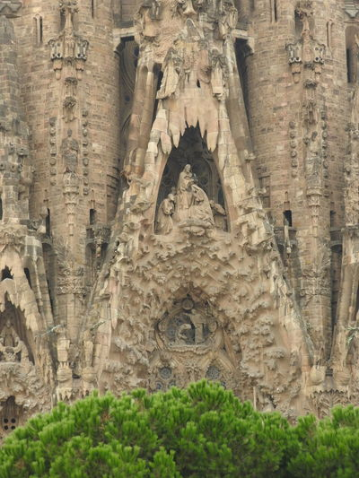 Sagrada Familia! Architecture Barcelona Barcelona Tourist Bus Tourist Attraction  Architecture Attractions Building Building Exterior Built Structure History Nature Place Of Worship Religion Sagarada Familia Spirituality Travel Travel Destinations