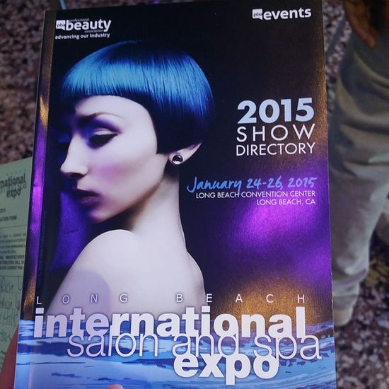 Arrive in perfect time to see @TedGibbsonBeauty on the stage ISSEshow2015 Hairshow