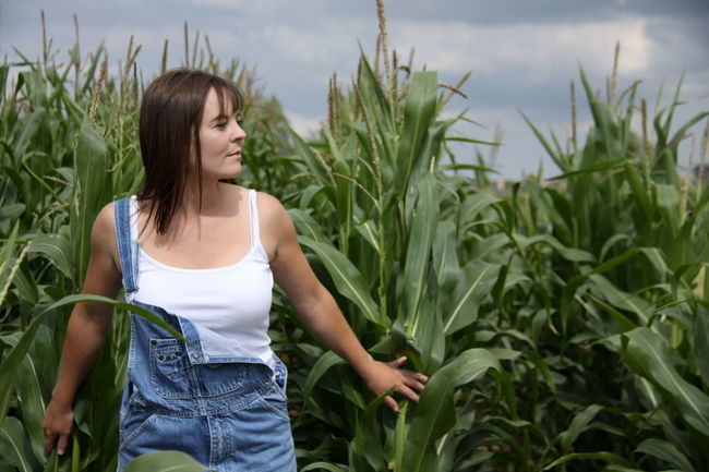 Person Beautiful People Corn Nature Cowgirl Beauty Outdoors Step It Up