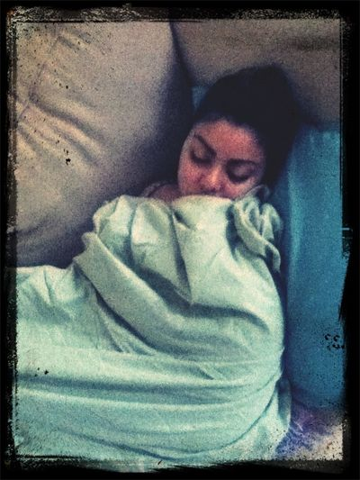 Stephanie Sleeping :) @haven_hearts