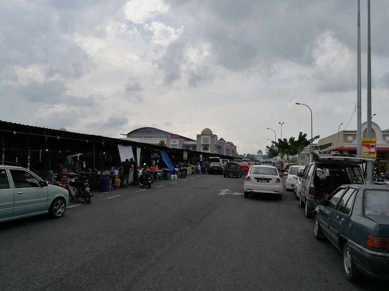 Ramadhan Bazaar in Pasir Mas, Kelantan Town Cloud - Sky Day Street