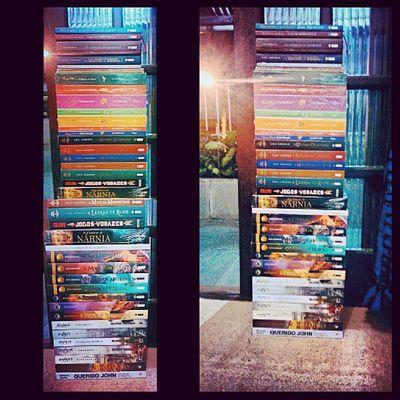 Meus bebês <3. 36 livros o.o