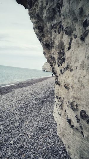 Symetry Beach Rock Element Rock Sea Water