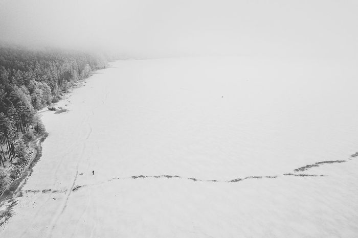 Ice fishing Drone  Frozen Ice Fishing Lithuania Nature Nature Aerial View Beauty In Nature Cold Temperature Cold Winter ❄⛄ Day Landscape Nature No People Outdoors People Scenics Snow Tranquil Scene Tranquility Weather Winter