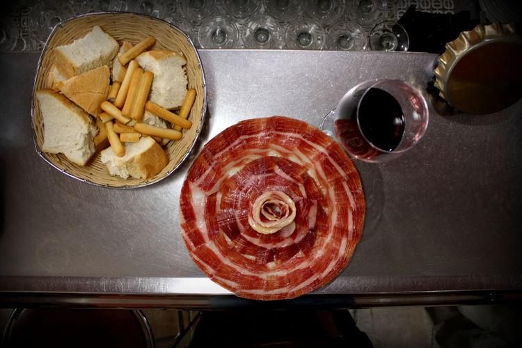 Extremadura Food Food And Drink Ibérico Ibérico Ham Jamón Ibérico No People Wine