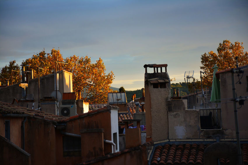 Tree Travel Destinations Architecture No People Outdoors Sky Day Aixenprovence Building Exterior Cityscape Sunset Clear Sky Tranquility