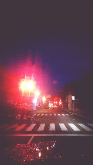 Illuminated Night Red Sky City Life Lights Streetphotography Street