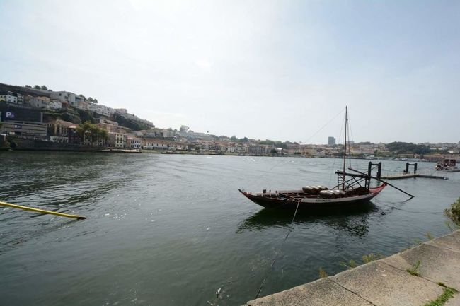 Nautical Vessel Water Outdoors Sky Day Portugal Porto Vacations Travel