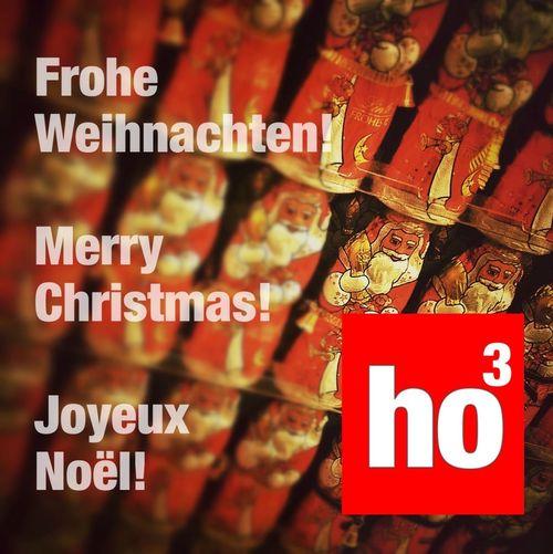 Frohe Weihnachten, Merry Christmas!