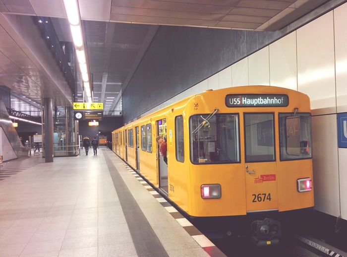 Somewhere in Berlin...Marina! Russianpeople Hauptbahnhof Train Station Berlin The Street Photographer - 2015 EyeEm Awards