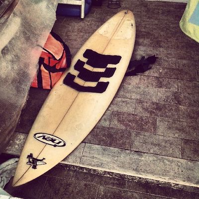 Le gioie Surf Surfboards Surfers Surfing Nev Orange Please Love Wave BIG Sand