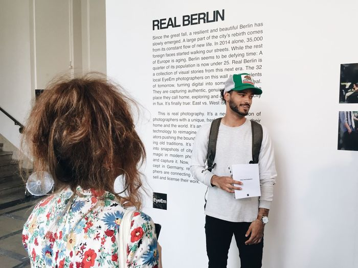 Real Berlin Exhibition Photographer In The Shot