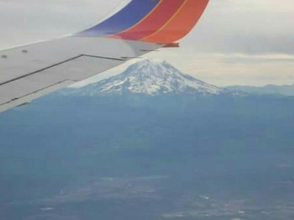 Feel The Journey Mt Shasta View From The Plane  Natures Marvel Mountain Beautiful Perspective Original Experiences on my way to Seattle to live and work No People On The Way The Great Outdoors - 2017 EyeEm Awards