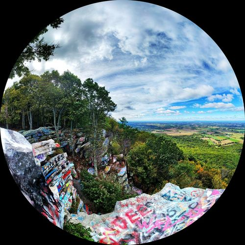 High Rock, Penn-Mar Park Cloud - Sky Sky Nature No People Day Beauty In Nature Multi Colored Tree Outdoors Road Trip Vanlife Cool Places Scenics Graffiti Graffitiporn Mountain Mountain View Hang Gliding Site Unusual View Maryland Pennsylvania EyeEmNewHere