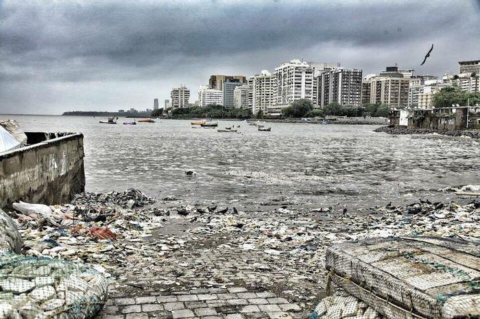 How Do We Build The World? Mumbai Poluted Earth Pollution Sea View