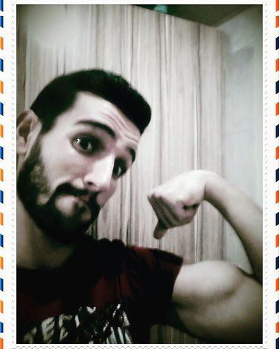 Beard Fitness Progress Again Mylife Hi! Muscle That's Me Arm Letsgo Seeyou Again