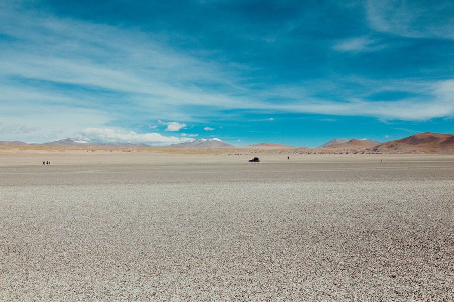 Altiplano Andes Arid Climate Barren Beauty In Nature Bolivia Cloud - Sky Day Desert Desert Geology Landscape Mountain Nature Nature No People Outdoors Physical Geography Salt - Mineral Salt Flat Sand Sand Dune Scenics Sky Tranquility