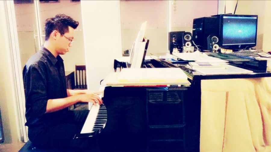 Piano Playing Piano Piano Lover