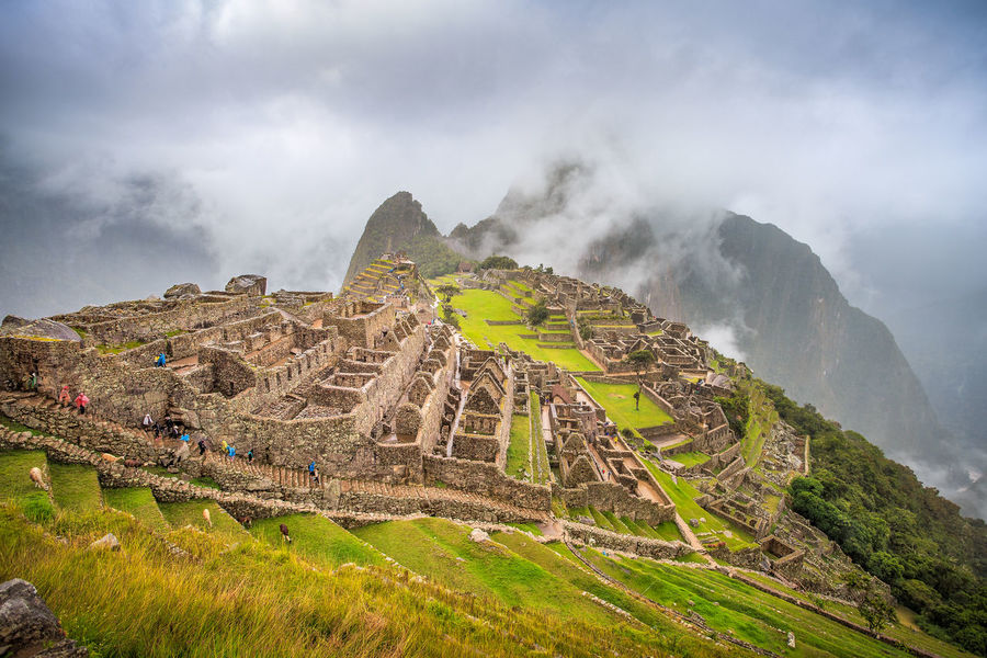 City Life Cloudy Inca Machu Picchu Peru Ancient Ancient Civilization Archaeology Beauty In Nature Built Structure Day History Huayna Picchu Inca Ruins Landscape Mountain Nature Old Ruin Outdoors Rock - Object Scenics Sky The Past Tourism Travel This Is Latin America