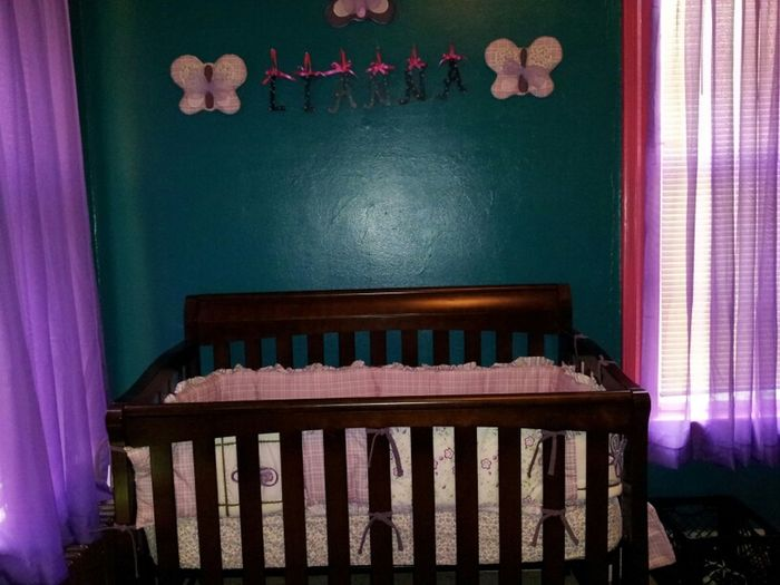 crib is officially up!!!