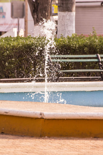 Day Focus On Foreground Fuente❤Agua Motion Parques  Selective Focus Stopping Time Water