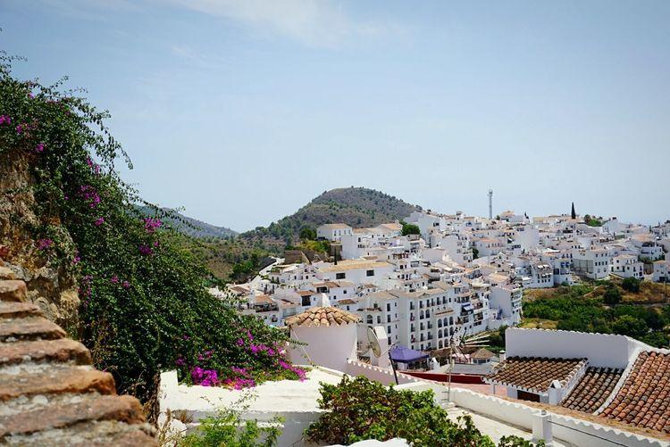 Frigiliana Málaga,España Malaga Beautiful Sunny Day Tourism Hot Day South Vacations España🇪🇸 White Color House Cute Houses