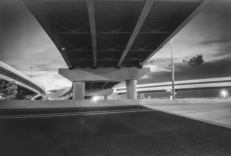 Home Is Where The Art Is Lifestyles Streetphotography Street Photography Bridge Under The Bridge Black And White Night Photography Monochrome Lines And Shapes Lines And Angles Lines & Curves Light And Shadow Challenging Photos Taking Photos Taken By M. Leith