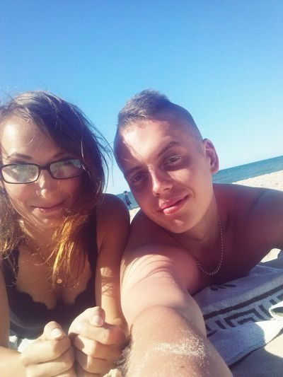 Mielno Plaża With My Boyfriend <3 Love ♥ Love In The Air Beautiful Day <3 Sunny Day❤ Relaxing Summer ☀