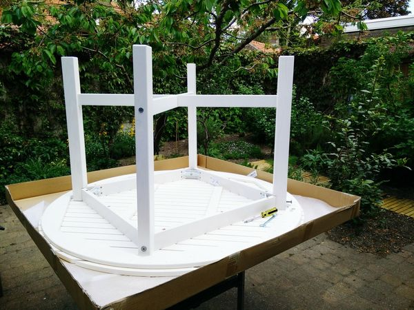 What I Did Today Assembling Garden Table IKEA Last Fittings