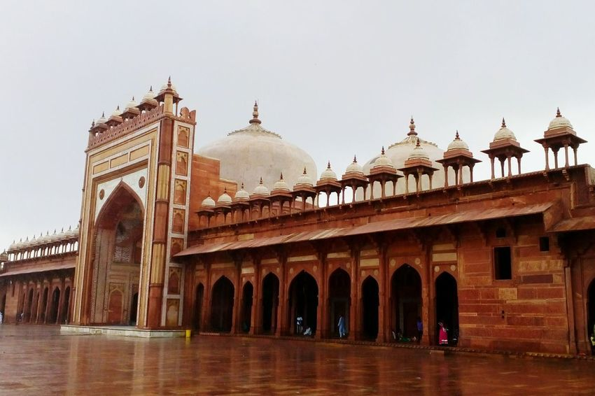 India Fatehpur Sikri Fort Mobilephotography Love To Take Photos ❤ Architecture Travel Destinations Tourism Built Structure Travel Cultures Arch History