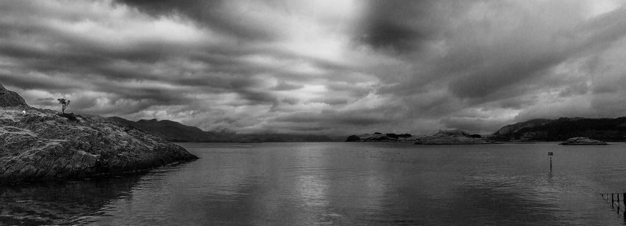 Taken during a walk at the north end of Lismore. Beauty In Nature Black And White Cloud - Sky Landscape Lismore Scotland Monochrome Nature Outdoors Scenics Scotland Sky Water