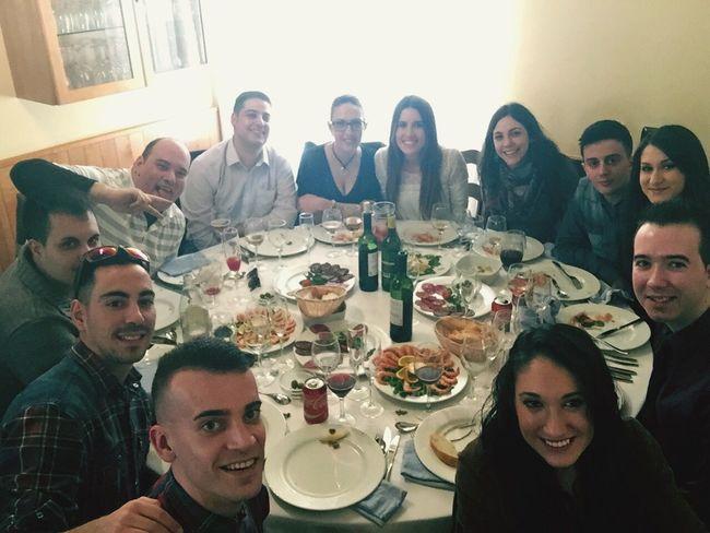 Comida empresa mesa 8