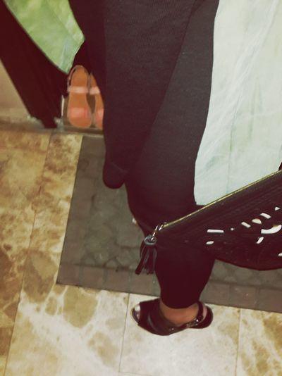Black Haki Legs Foot French Shoes Shoe Highshoes Clutch Twist