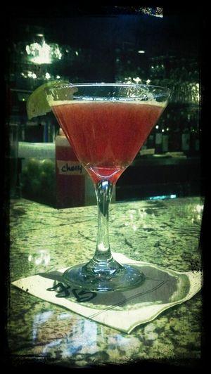 Mixed Berry Vodka Martini