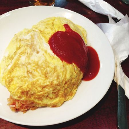 Food Porn Lunch Omurice