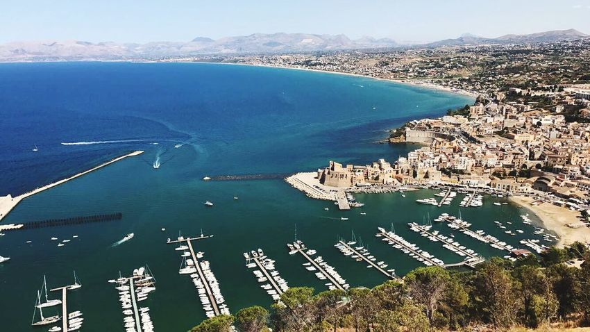 Castellammare Del Golfo Sicilia August2017 Vacations