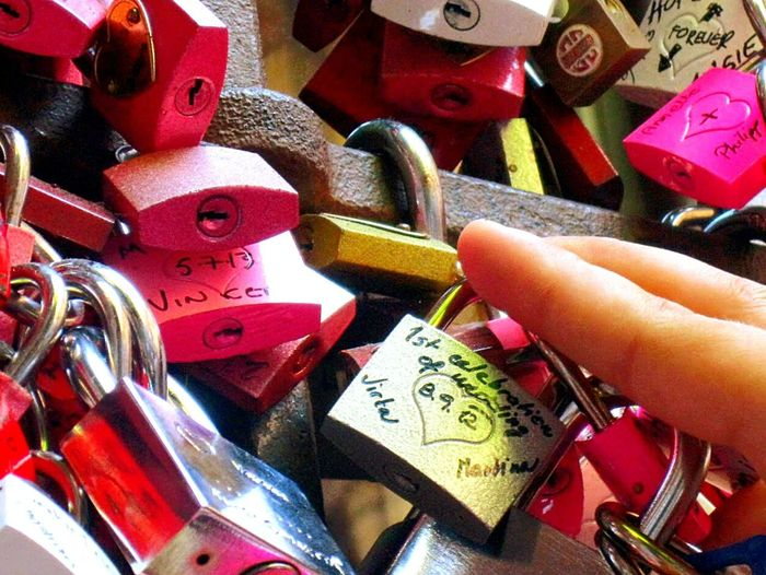Verona in Verona Italy Lock Locked Love ♥ Love Pink Romeo And Juliet Europe Trip Holiday Gold Without Keys Honeymoon Travel Photography Traveling Travel Destinations Travel Trip Photo Wedding Celebration Color Palette