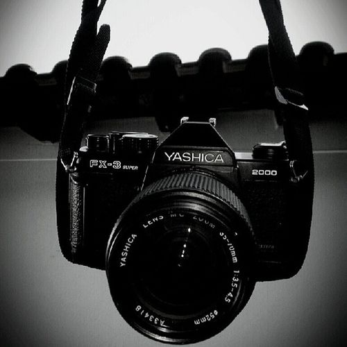 Yashica Fx3 Super 2000 Black Photgraphy And White Love Analog