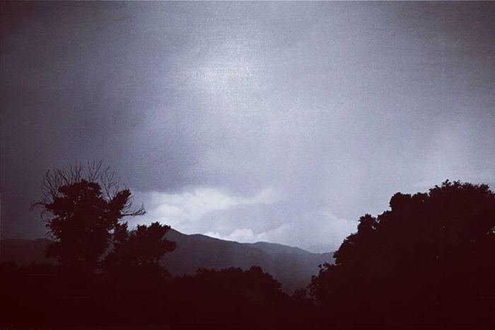 Blackandwhite Bnw Bnw_life Bnw_life Bnw_captures Bnw_captures Bnw_society Monochrome Mountains Trees Rain Mist Clouds Cloudy