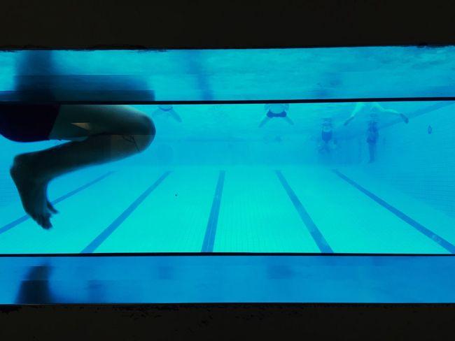 Berlin Swimming Pool Underwater