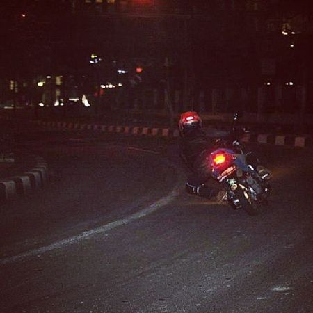 Cornering Jakarta Street Roadrace