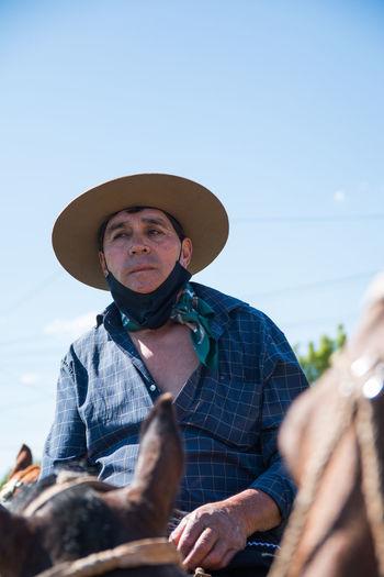 Portrait of argentinian gaucho