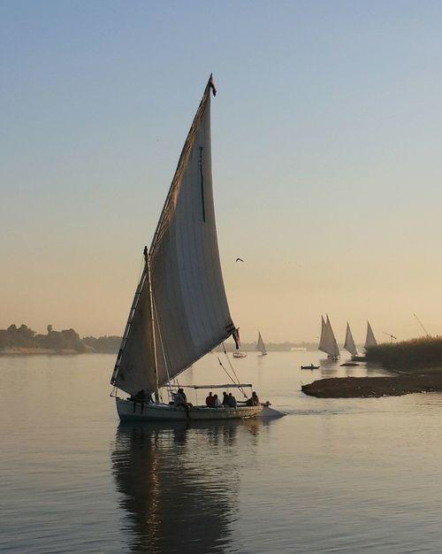 Nile.Luxor.Egypt EeyemBestEdits OpenEdit EeYem Best Shots Mytravelgram Eeyem Photography River Collection Boats⛵️ Travel Photography Nature_collection Water_collection