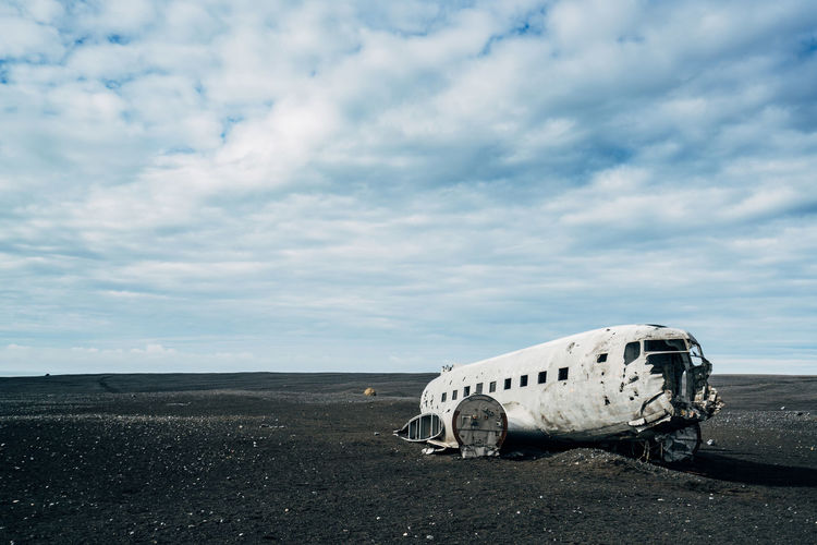 Abandoned Airplane