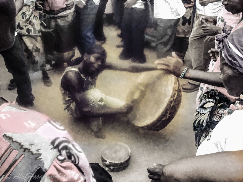 Drumming HIV Day Large Group Of People Malawian Men People Real People Togetherness