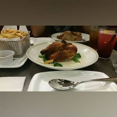 Pampered myself before going field camp next week💪. Poulet