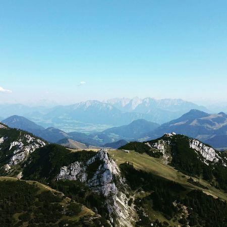 Widok Z Góry Alpy Zajebiscie Niemcy Germany Wendelstein