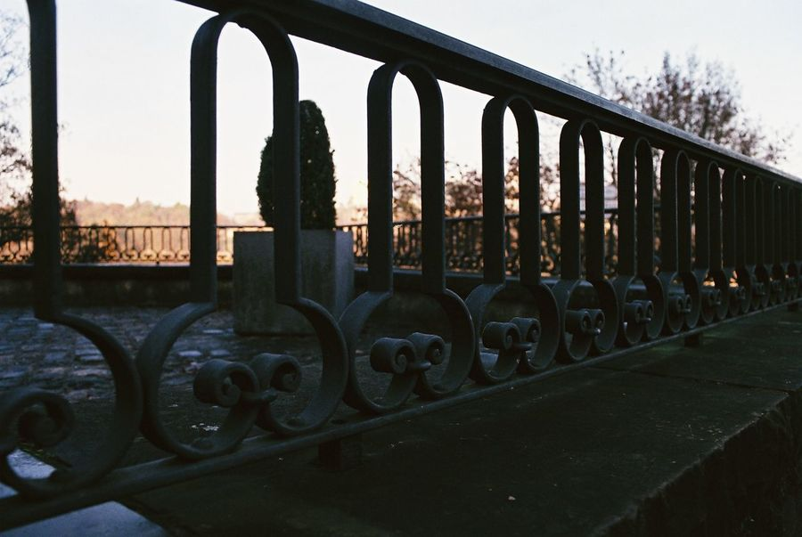 Architecture Connection Day Daylight Fence Fences Light Light And Shadow Luxembourg Metal No People Shape Sky View Weird Weird Shapes